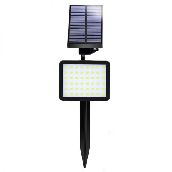 Outdoor solar lawn wall light for three led colors 01