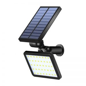 Outdoor solar lawn wall light for three led colors 02