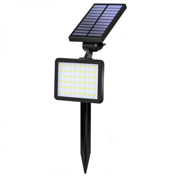 Outdoor solar lawn wall light for three led colors 03