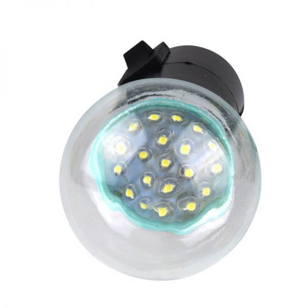 Solar led garden hanging light with single lamp bulb 03
