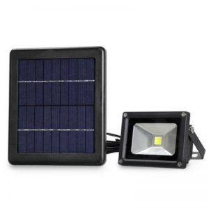 Outdoor solar led motion flood garden lawn light 01