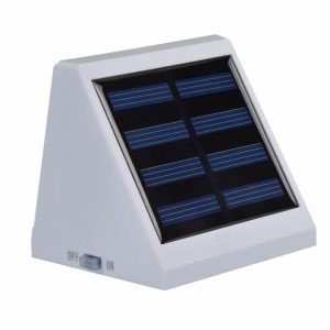 Outdoor decorative solar led garden wall light 03