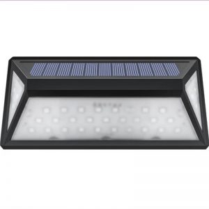 Solar led motion sensor wall deck lights 01
