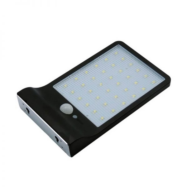36 led remote control solar motion sensor wall lights 02