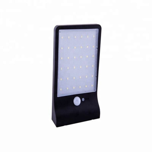 36 led remote control solar motion sensor wall lights 03