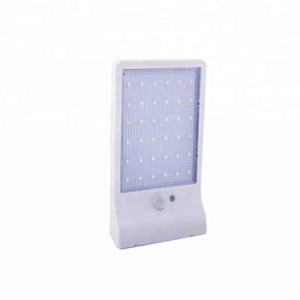 36 led remote control solar motion sensor wall lights 04