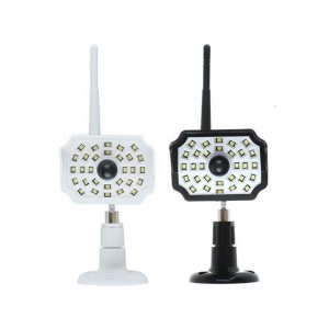 Solar led wall spotlight for monitoring security 01