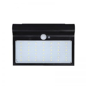 Outdoor patio lighting solar led motion sensor wall light 05