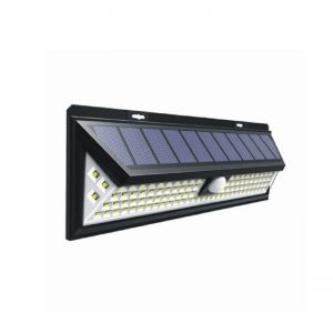 Wireless motion sensor solar wall light with wide-angle 02