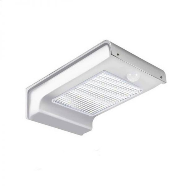 72 led solar sensor wall light for garden pathway 01
