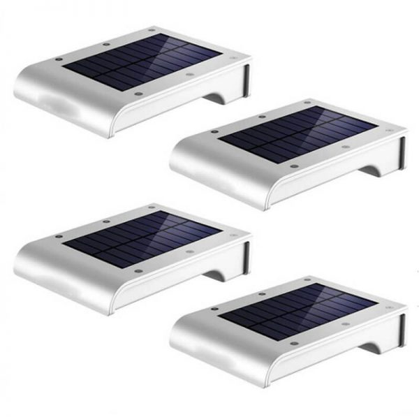 72 led solar sensor wall light for garden pathway 02