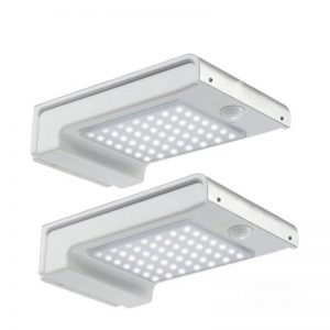 72 led solar sensor wall light for garden pathway 04