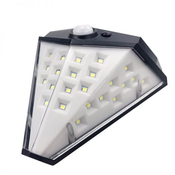 Outdoor wall-mounted solar led motion sensor light 02