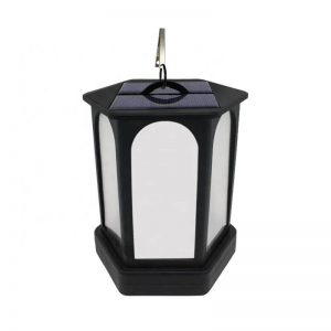 Multifunctional flickering flame solar lantern light 03