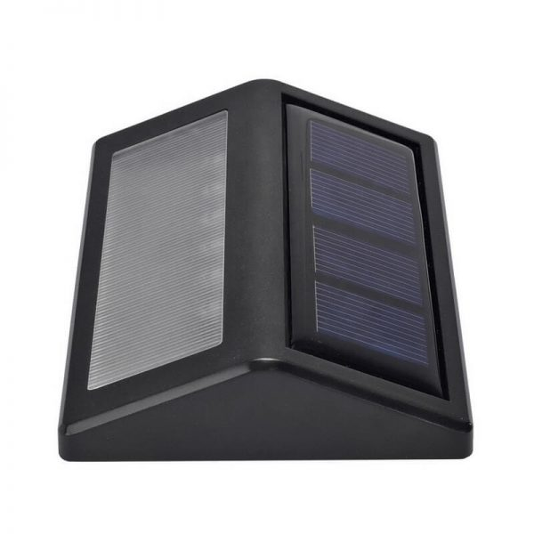 Two packs of outdoor stairway step solar wall lights 02