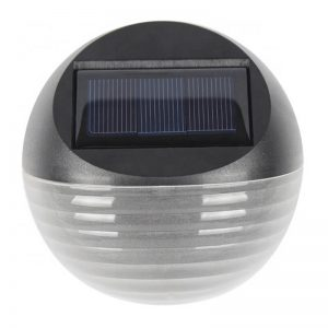 Outdoor yard fence solar led dim garden wall light 01