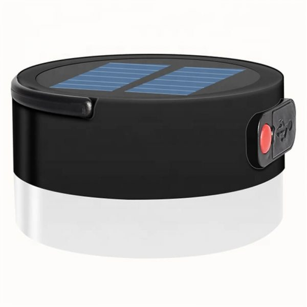 Outdoor solar camping light with USB mobile charging 02