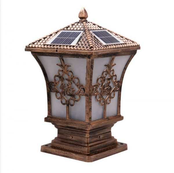 quare pillar meaning happiness solar post light 07
