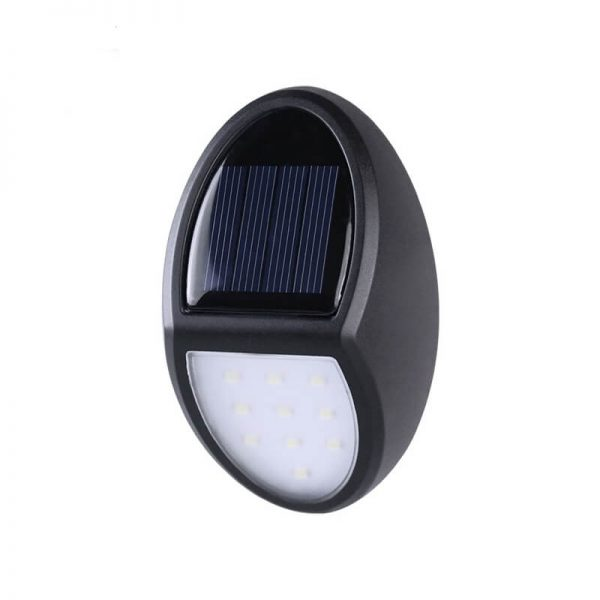 Decorative solar led garden wall light for pathway lighting 01