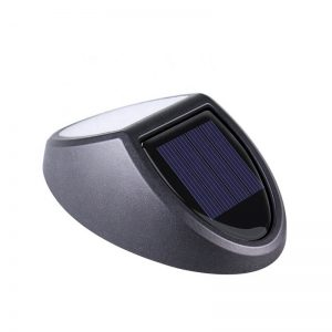Decorative solar led garden wall light for pathway lighting 02