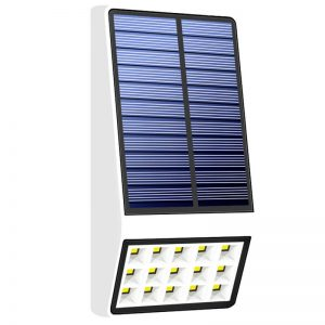 Outdoor bright solar led motion sensor wall light 02
