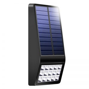 Outdoor bright solar led motion sensor wall light 03