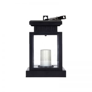 Portable solar umbrella lantern candle light 1