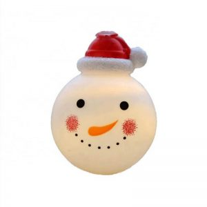 Solar Christmas snowman decoration fairy string light 2