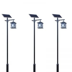 3M single arm hanging square solar garden light 2