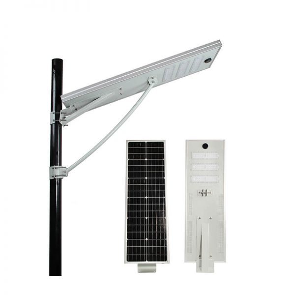 Solar led new rural motion sensor integrated street light 1