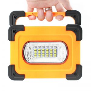 Portable solar led floodlight camping work light 1