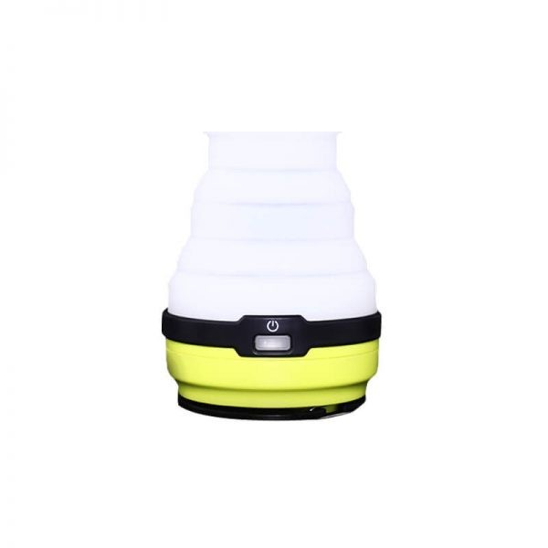 Portable solar silicone collapsible camping light 1