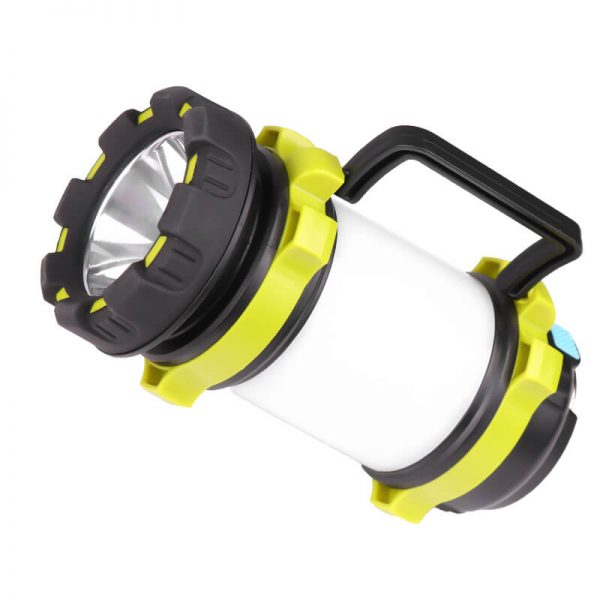 Portable solar lantern flashlight camping light 2