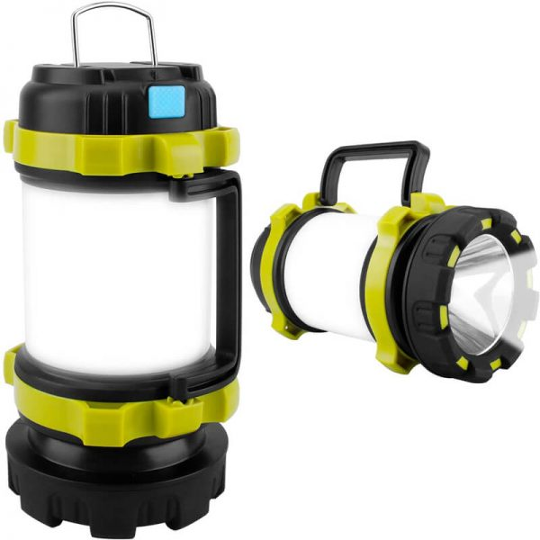 Portable solar lantern flashlight camping light 4