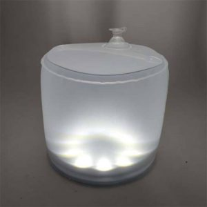 Solar inflatable folding camping lantern led light 1