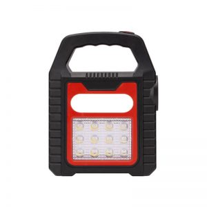 Solar led COB lantern spotlight camping lights 1