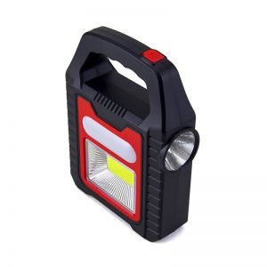 Solar led COB lantern spotlight camping lights 2